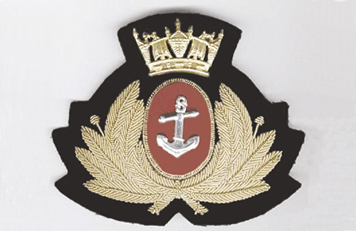 Merchant Navy officer's cap badge