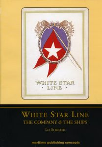Cover for White Star Line book