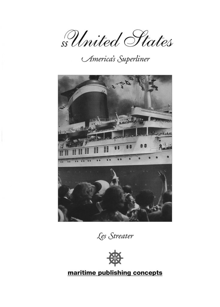ss united states – title page