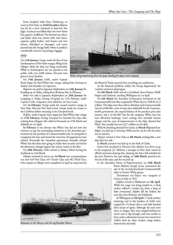 White Star Line p219