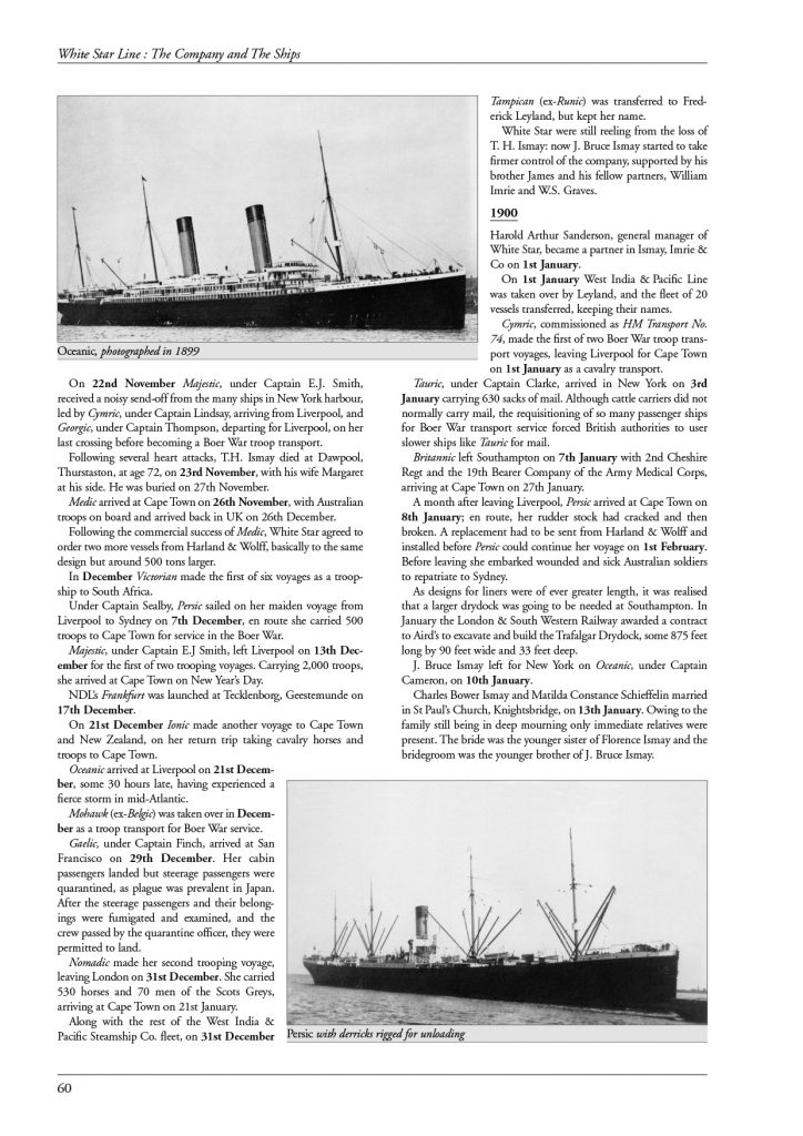 White Star Line page 60