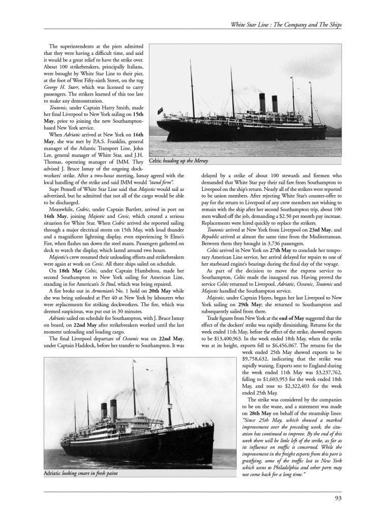 White Star Line – page 93