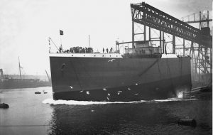 Suevic bow launch