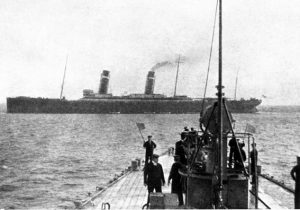 hms oceanic aground at Shaalds