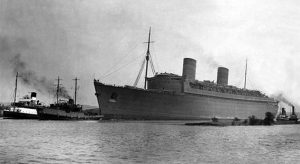 RMS Queen Elizabeth - Clyde to NYC