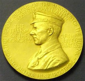 Sir_Arthur_Henry_Rostron_Congressional_Gold_Medal,_Merseyside_Maritime_Museum-2 copy