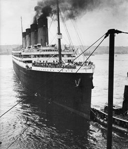 olympic departs new york