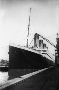 Titanic at soton 1