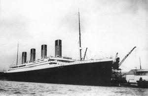 Titanic docked Soton