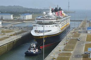 Disney Wonder Panama Canal 2017