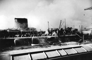 lafayette fire dockside