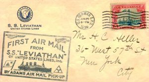 1929 air mail envelope
