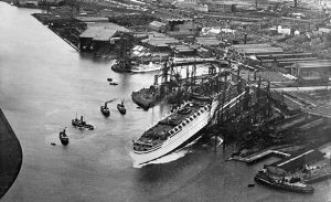 launch of Empress of Britain