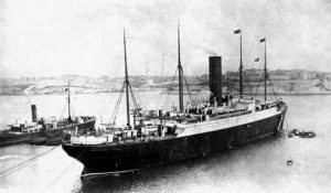 Carpathia at Halifax